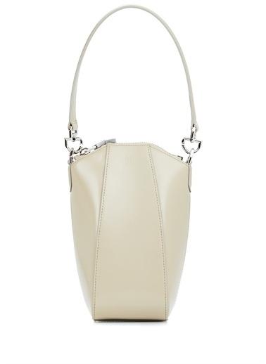 Givenchy Givenchy 101611425 Deri Zincirli Omuz Askılı Kulplu Fermuar Kapatmalı Bej Kadın Çanta Bej